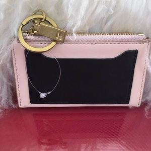 J. Crew leather credit card and key 🔑 chain